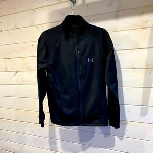 Under Armour Black Zip Up Sweater
